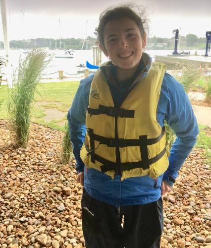 Quinn Sailing outfit