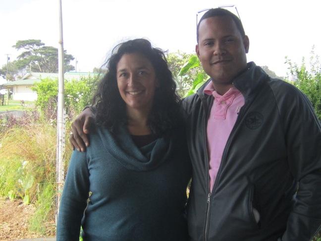 Amanda Rieux, Mala'ai Gardens teacher & Josue